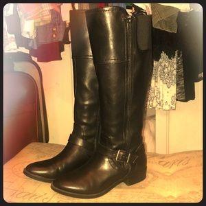 Target Brand black riding boots